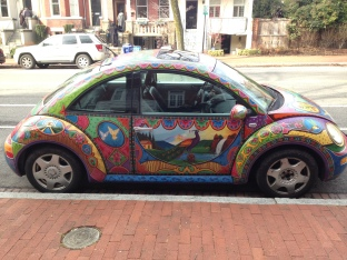 VW Bug in Capital Hill/Eastern Market