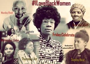 #ILoveBlackWomen Graphic